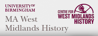 MA West Midlands History