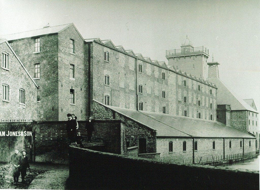 The Location Of Ditherington Mill Revolutionary Players